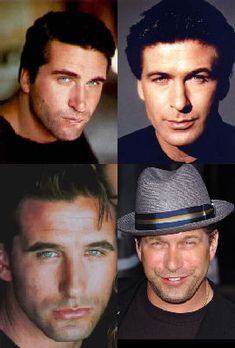 Top row from left: Daniel and Alec Baldwin Bottom row from left: William and Stephen Baldwin Alec Baldwin Brothers, Stephen Baldwin, Celebrity Siblings, Star Wars, Family Affair, Hollywood Stars, Famous Faces, A Team, Beautiful Men