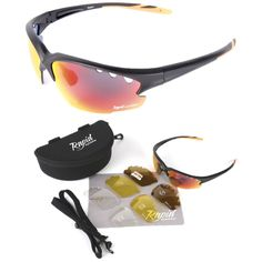 2608dc7e440909 Expert Cycle - Sunglasses for Cycling - Sunglasses for Sport, (eye  protection, polarized, sun glasses, rx running sunglasses). Rapid Eyewear
