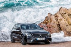 beyondcoolmag#mercedesbenz#AMG#eclass#estate#premiere#2016. Land,sea,air.Synonymous for the 3-pointed star.