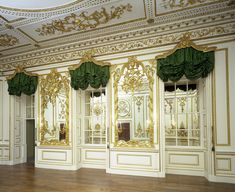 NORFOLK HOUSE: The Music Room, as reconstructed in the Victoria & Albert Museum, London.