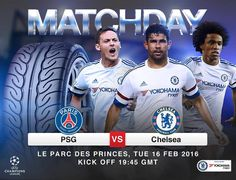 Yokohama Chelsea FC partnership. IT'S MATCHDAY! PSG vs Chelsea