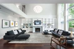 grey family room - Google Search