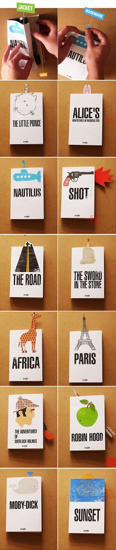 Awesome books with bookmarks!