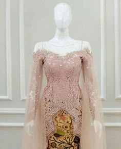Dress Brokat Muslim, Dress Brokat Modern, Kebaya Muslim, Kebaya Modern Hijab, Kebaya Hijab, Kebaya Dress, Kebaya Wedding, Muslimah Wedding Dress, Muslim Wedding Dresses
