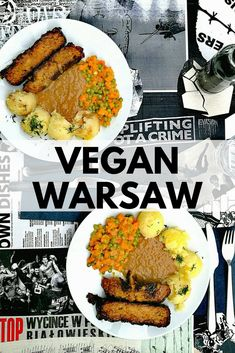 Vegan Warsaw Food Guide - The Polish capital is one of the most vegan-friendly cities in the world. Check out our recommendations of the best vegan restaurants in Warsaw! Delicious Vegan Recipes, Vegetarian Recipes, Healthy Recipes, Cooking Recipes, Cooking Classes Nyc, Cooking Games, Best Vegan Restaurants, Easy Recipes For Beginners, Cooking Turkey