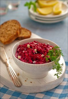 Beetroot Blue Cheese Spread
