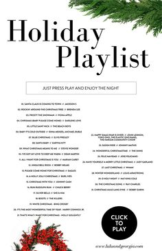 Lulu & Georgia Holiday Playlist