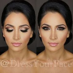 One of today's gorgeous clients I had the pleasure of glamming up ... That beat is fit for a queen Makeup by me @dressyourface using @anastasiabeverlyhills eyeshadows, brows, and contour powders / @lagirlcosmetics pro concealers / @maccosmetics foundation, blush, lips / @ardell_lashes double-ups with @lancomeusa mascara ❤️