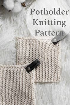 Grab this Handy Little Potholder Knitting Pattern. This stitch takes easy to a whole new level. It's stockinette stitch on the front and back! Watch the video to see how it all comes together & apart. Beginner Knitting Patterns, Dishcloth Knitting Patterns, Knit Dishcloth, Crochet Patterns For Beginners, Knitting For Beginners, Loom Knitting, Knitting Stitches, Knit Patterns, Knitting Projects