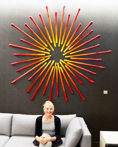 Hospitality Art | Contemporary Hotel Design | Modern Wall Sculpture | Rosemary Pierce Modern Art Modern Wall Sculptures, 3d Wall Art, Zen Art, Modern Artists, Geometric Wall, Recycled Art, Modern Artwork, Wall Treatments, Custom Art