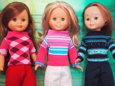 Tengo una muñeca vestida de azul: Colección de jerseys con calcetines