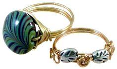Wirewrap Rings Class Jewelry Making Classes, Bangles, Bracelets, Rings, Bangle Bracelets, Bangle Bracelets, Ring, Bracelet, Bangle