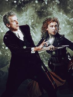 "The Doctor and River Song - Christmas 2015(""The Husbands of River Song"")"
