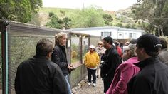 Nineteen top conservation professionals representing 17 countries observed firsthand the Catalina Island Conservancy at work