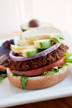 The Black Bean Burger & A Giveaway!   The Healthy Wife