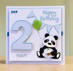 Baby Birthday Card, Birthday Cards For Boys, Handmade Birthday Cards, 2nd Birthday, Handmade Cards, Boy Cards, Pink Cards, Cute Cards, Sheep Cards