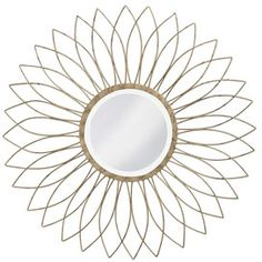 beautiful sunburst Wall Mirror! I have this! Tai Pan Trading in Utah. From years ago.
