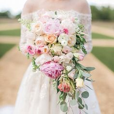 A bouquet is one of the biggest accessories you will wear on your wedding day!