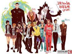 Sẽ ra sao khi One Piece là trường học | Cotvn.Net