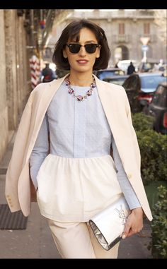 Street Style - Milan from Vogue Espana