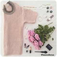EL JERSEY DE ENTRETIEMPO / MIDSEASON SWEATER                      Los jerséis de punto de algodón con medias mangas son ideales para el otoño y la primavera y tu ya tienes el tuyo?  / Cotton sweaters are great for fall and spring, do you have one yet?  #fashion #style #stylish #nailpolish #beauty #beautiful #instagood #instafashion #girly #pink  #styles #outfit #jewelry #flowers #roses #makeup #lasestilistas