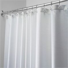 extra long shower curtain for bathroom-Remove funky glass shower doors...