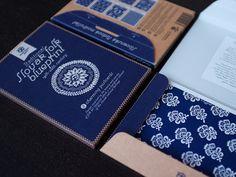 Pohľadnicový set Modrotlač — Kompot - tie trvanlivé tričká