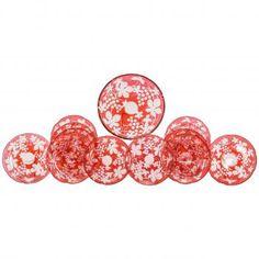 http://eliseabramsantiques.com/glass/19th-century-baccarat-cranberry-overlay-intaglio-cut-clear-dessert-service