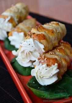 Fresh Rolls, Allrecipes, Sushi, Nom Nom, Chicken, Ethnic Recipes, Food, Essen, Meals