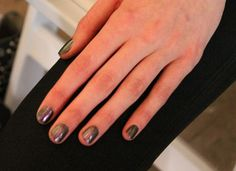 Cynthia Rowley Spring 2013 Nail Looks