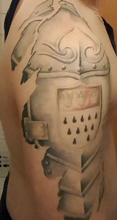 Wald tattoo rücken