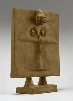 Bird Head by Max Ernst. This just makes me smile. Max Ernst, Statues, Dada Movement, Moma Collection, Mark Rothko, Man Ray, Museum Of Modern Art, Art Google, Sculpture Art