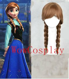 Frozen Anna Cosplay Wig & Anna Frozen Wig 2014 Also by Wowcosplay, $37.99