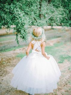 Couture Flower Girl Dresses by Amalee Accessories | photography by http://www.marielhannahphoto.com/