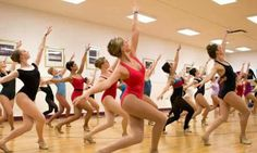Rockettes audition prep.