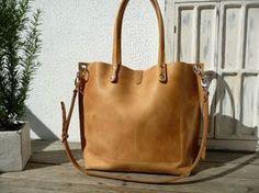 Large Leather Bag Shoulder Por Sanumileathergoods