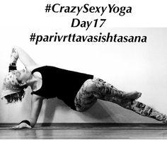 #CrazySexyYoga day17 revolved pose dedicated to Sage Vasishta #parivrttavasishtasana @thegivingmom @yogashalameag @gordonogden @bohemian_heart @getfityogagirl @alissayoga @yoga_ky @kateswarm @aloyoga @jeannevergerjewelry @yogisurprise #yoga #yogi #yogafam #yogabums #yogaeverydamnday #igyoga #igyogis #igyogafam #igyogachallenge #igyogacommunity #namaste  by bendyladyclaire