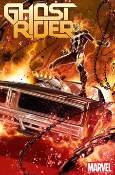 GHOST RIDER #1 Brings Vehicular Vengeance to Marvel NOW!