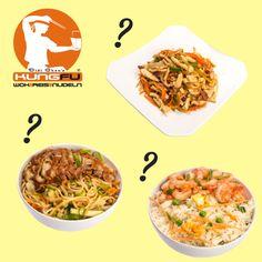 Gebratene #Nudeln, gebratener #Reis oder doch lieber ein #Wok-Gericht? Was ist Euer Favorit? — KungFu - Wok | Reis | Nudeln