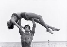 Sylvester Stallone and Brigitte Nielsen, Long Island,  1987
