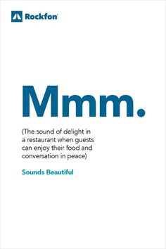 Dining out in restaurants is not just about food. It is also about sound. Scientific research shows that acoustics, background #music and noise levels affect not only the atmosphere but also the way we #experience what we eat and drink. There is a direct link between the ear and the nose which might explain how and why noise affects our taste. Implementing Rockfon acoustic ceiling and wall design can help to make your customers stay longer. #SoundsBeautiful #Rockfon #acousticdesign Ceiling Design, Wall Design, Acoustic Design, Visual Comfort, Helping People, Restaurants, Noise Levels, Feelings, Museums