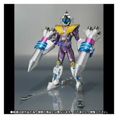 Kamen Rider Fourze Meteor Nadeshiko Fusion States Tamashii Japan