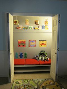 Reading Nooks for Kids on Pinterest