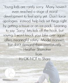 Model manners by helping kids set things right Gentle Parenting, Kids And Parenting, Parenting Hacks, Peaceful Parenting, Parenting Classes, Parenting Goals, Parenting Styles, Parenting Done Right, Future Mom