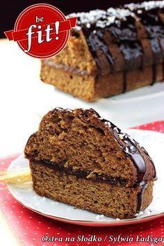 dietetyczny piernik , piernik pelnoziarnisty , piernik fit , fit ciasta , ostra na slodko , sylwia ladyga , blog kulinarny , swiateczne ciasta , fit przepisy , pyszny piernik , ciasto czekoladowe