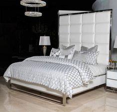 Emporium Framed Headboards Luxury Bedroom Design, Luxury Rooms, Luxurious Bedrooms, Luxury Bedding, Glam Bedroom, Bedroom Sets, Home Bedroom, Master Bedrooms, Master Suite
