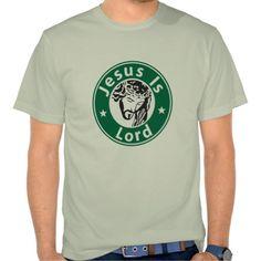 Jesus Is Lord Parody T-Shirt  http://www.zazzle.com/jjbdesigns?rf=238930821970325438 #tshirt #zazzle