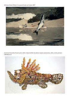 Une programmation sur le thème des poissons pour amener les élèves à créer avec des matériaux simples. Les Themes, Avril, Art Plastique, Les Oeuvres, Moose Art, Animals, Painting, Programming, Visual Arts