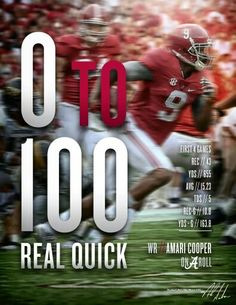 That's how they do it!! Alabama football :)
