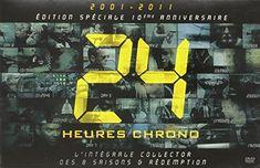 DVD série 24 Heures chronos, édition spéciale 10ème anniversaire.
